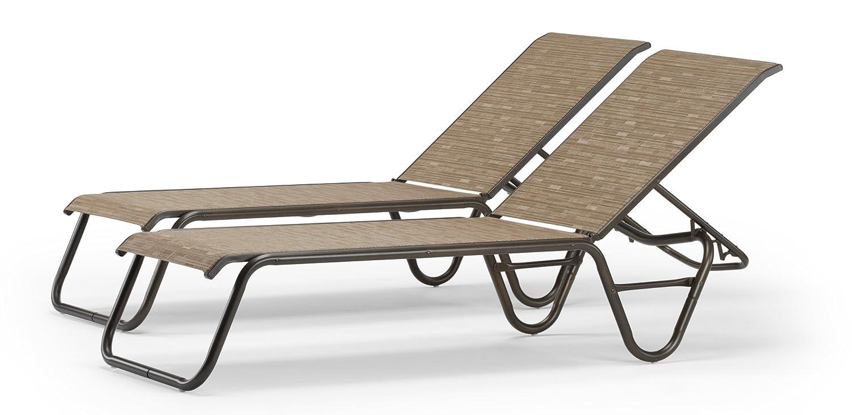 Amazon.com : Telescope Casual Gardenella Chaise : Patio Lounge Chairs :  Garden U0026 Outdoor