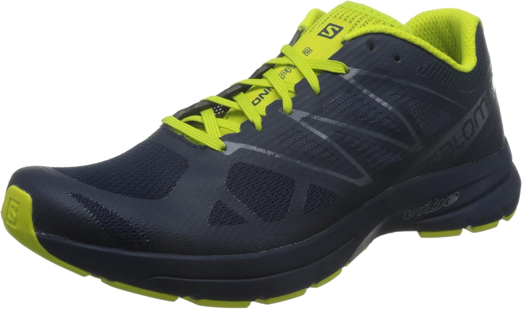 Salomon Sonic Pro 2, Zapatillas de Trail Running para Hombre, Azul ...