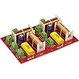 2PC 200Wオーディオスピーカー3ウェイクロスオーバートレブルミッドレンジベース独立型周波数分割器クロスオーバースピーカーフィルターDIY