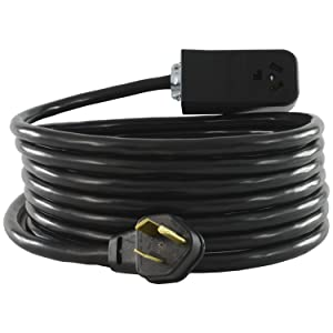 Conntek SB1030PR-010 NEMA 10-30 Extension Cord, 10 Feet