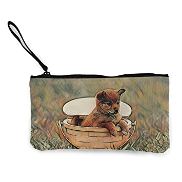 HUERY Monedero Perros y Gatos, diseño de Monedero, pequeño y Exquisito, para Llevar el Bolso Necesario: Amazon.es: Hogar