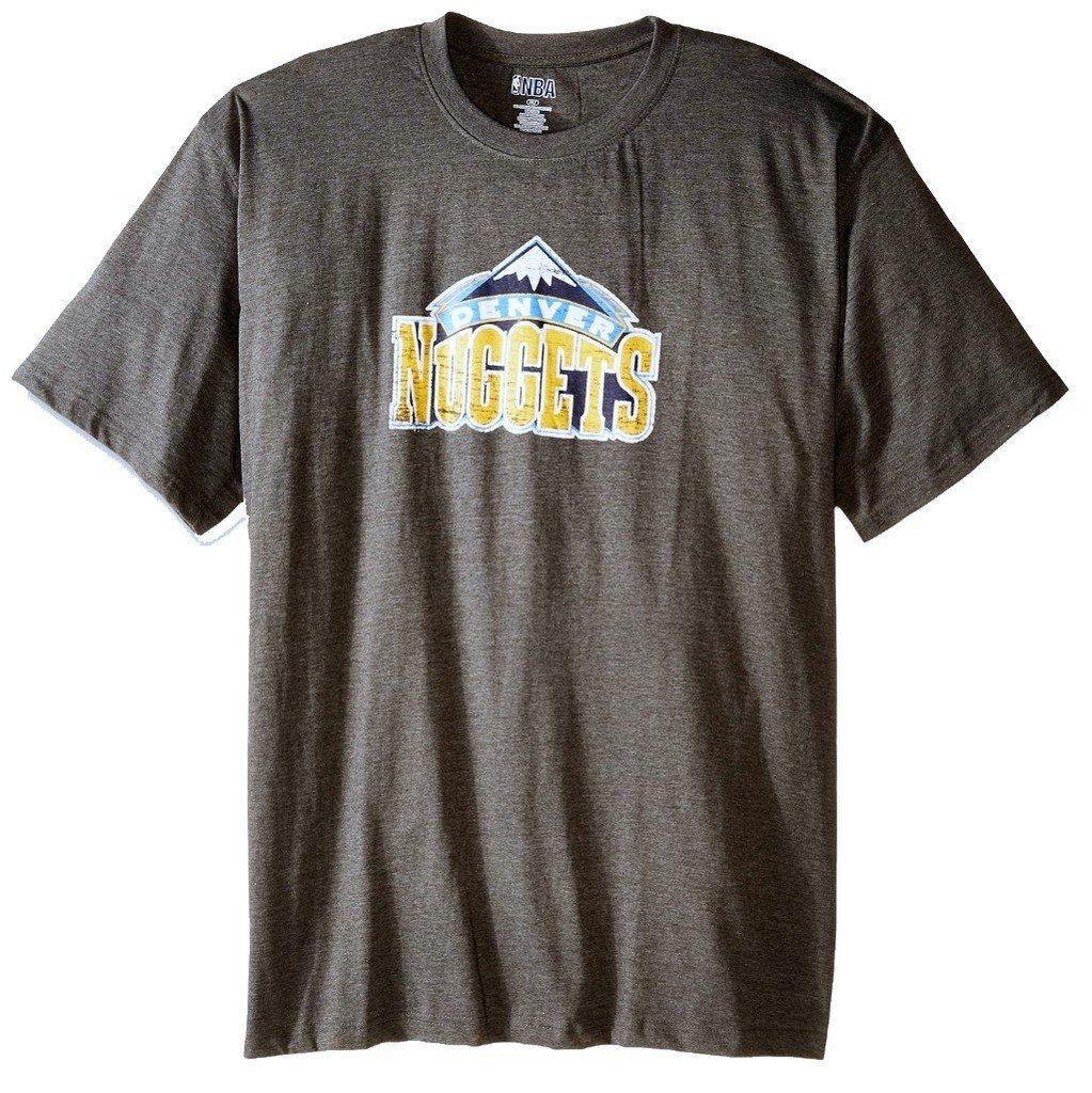 Denver Nuggets Nba S On Cour Charcoal Big Tall S Shirts