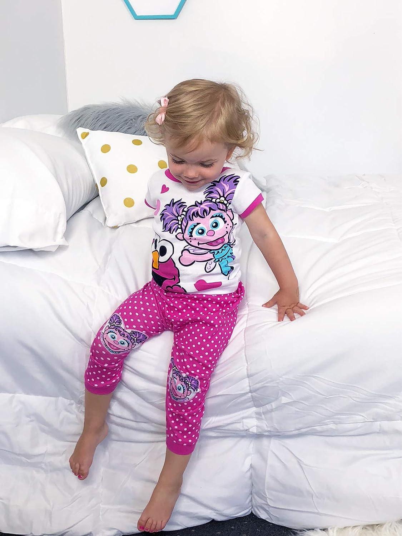 ee67e569fb4b Amazon.com  Sesame Street Elmo and Abby Cadabby Toddler Girls Cotton ...