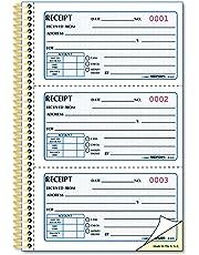 Rediform Gold Standard Carbonless Money Receipt Book, 8.5 x 5.5 Sets per Book (8L829)