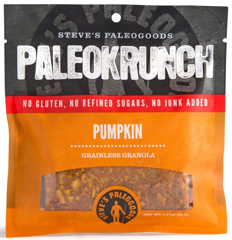 Steve's PaleoGoods, PaleoKrunch Bar Pumpkin, 1.5 oz (Pack of 6)