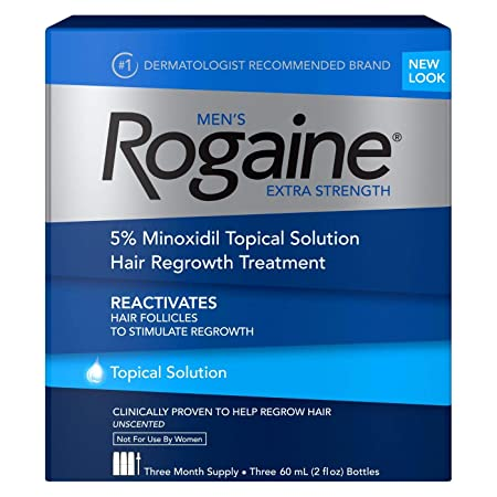Men s Rogaine Extra Strength Solution 2 pack 3 2oz bottles ea