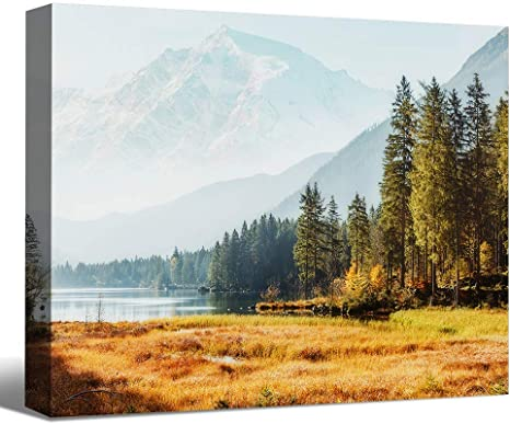 Wall Art Art Print Mountains Image from the natural landscape Canvas Nature