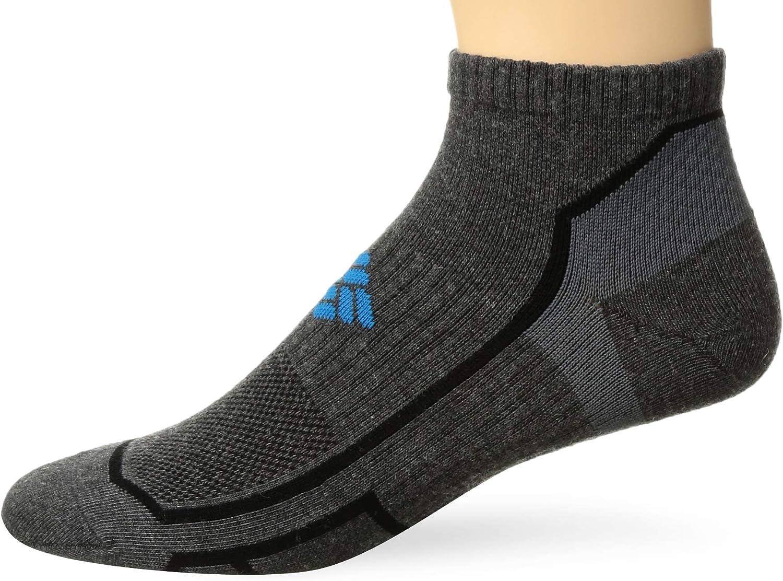 Columbia Men's Running Low Cut Sock, charcoal