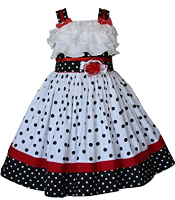 736eb1dc661 Amazon.com  Baby Girls Polka Dot Dress Disney Vacation Minnie Mouse  Pictures  Clothing