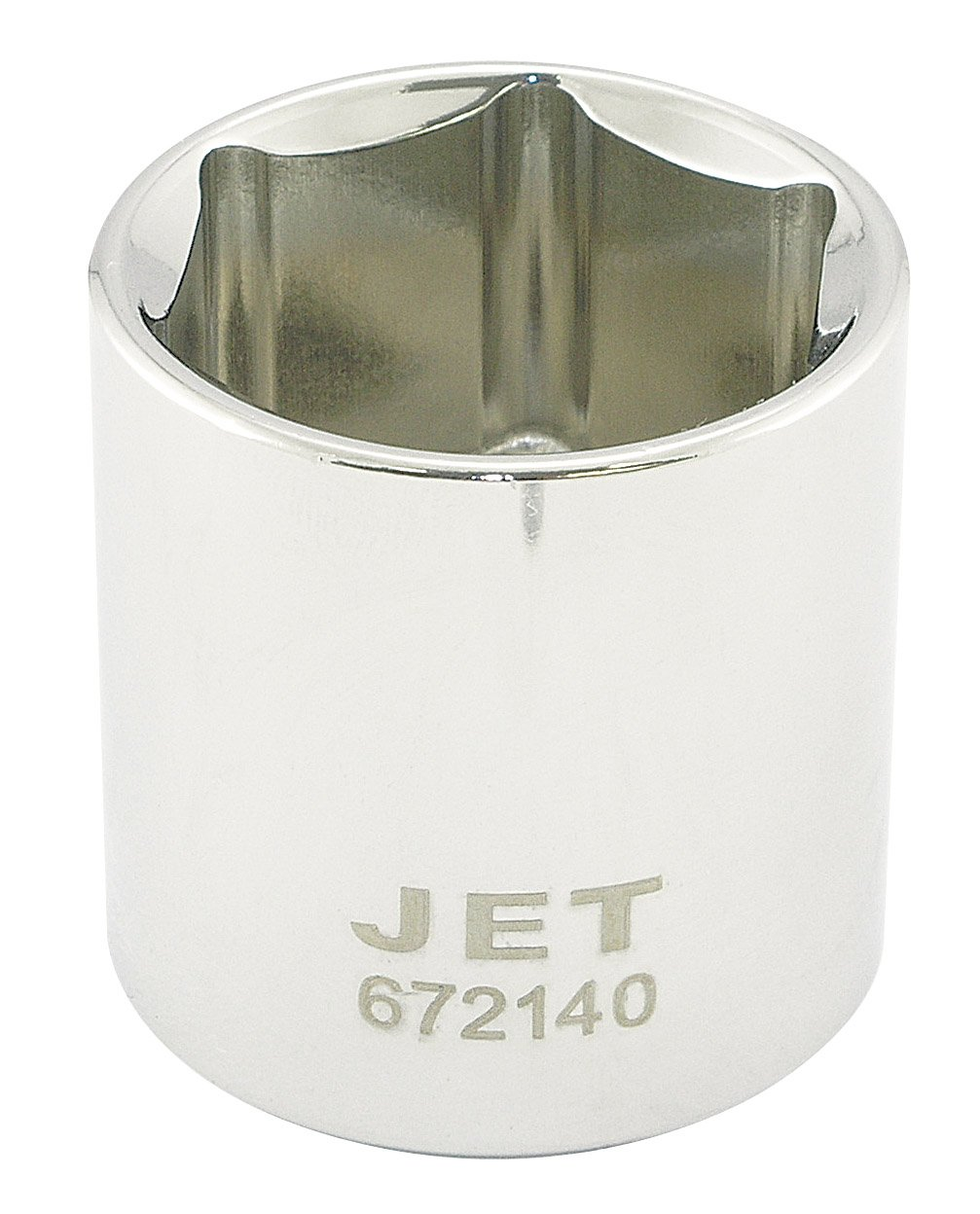 Jet 672130-1/2-Inch Drive, 15/16', Regular, 6 Point, SAE Chrome Socket