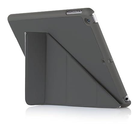 Pipetto P030-50 - Funda para iPad Air (con función soporte), gris