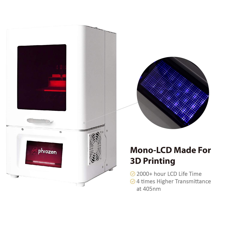 Phrozen Shuffle: Impresora 3D de resina LCD: Amazon.es: Industria ...