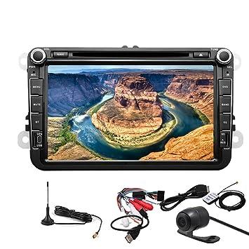 vw Pupug Android 4.2 OS avi Coche GPS DVD Wifi En Dash accesorios Stereo Radio TV