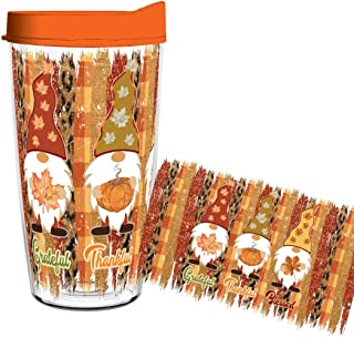 product image for Fall Garden Gnomes 16oz tumbler with Lid and Straw - Smile Drinkware USA
