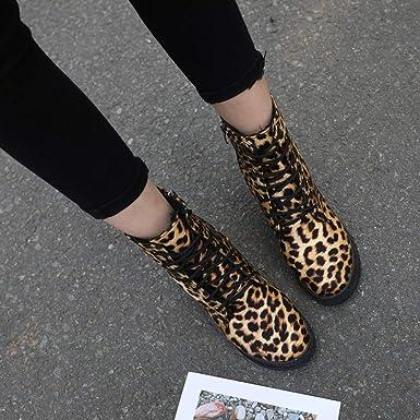 Longra❤ ❤️Botines de Mujer, Zapatos de tacón Cuadrado con ...