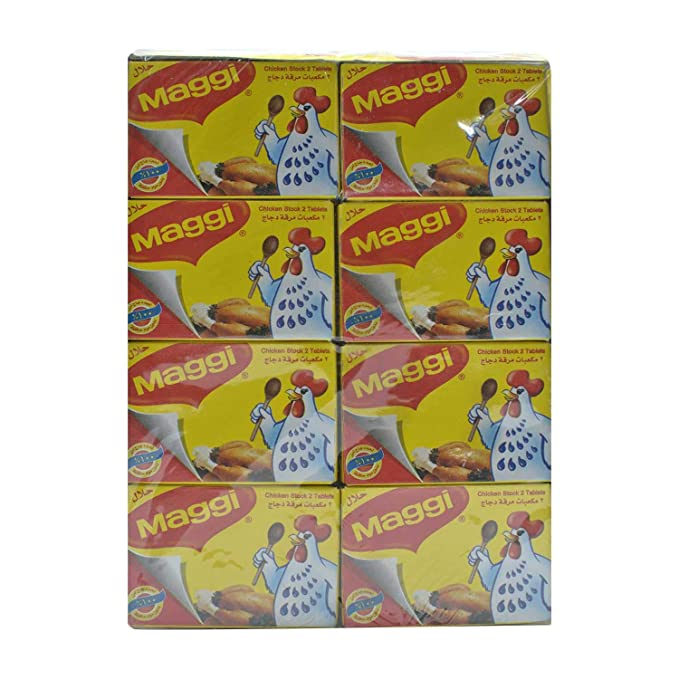 cf8c68ca4b05d7 Maggi Chicken Stock Cubes 24 Pack X 2 Tablets  Amazon.in  Grocery ...