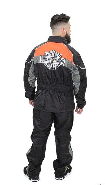 Amazon.com: Harley-Davidson 98337-15VM - Traje de lluvia ...