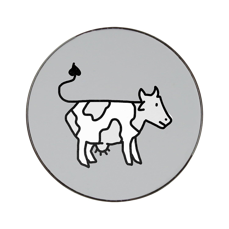 Compra Vaca (estilo de dibujos animados) Ronda de metal imán para ...