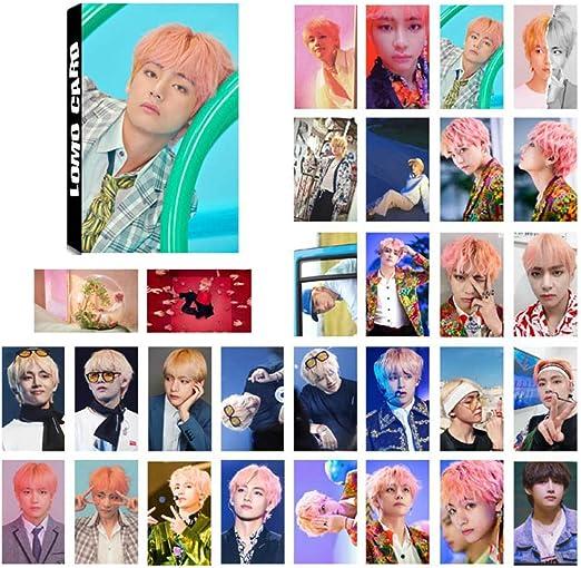 Yangzhoujinbei Charming Pack de 32 tarjetas BTS Lomo Kpop Bangtan ...