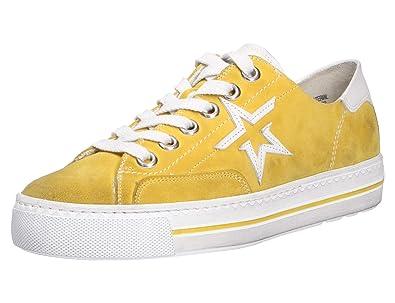 PaulGreen 4810 Größe 38.5 EU GelbWeiß: : Schuhe