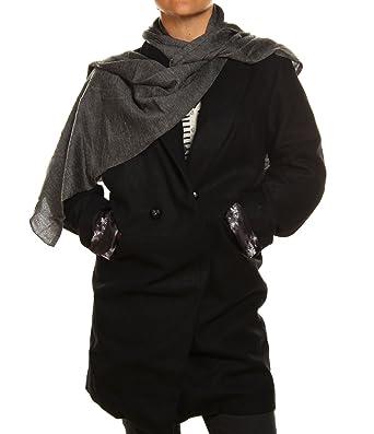 Femme Rhythm Jacket Veste Noir Manteau Humdum 4A3RqSLc5j