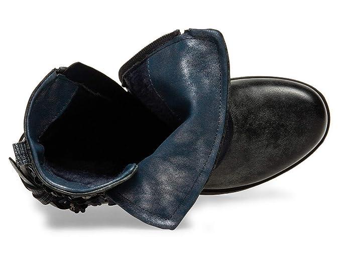 3d4da5ab5 Casper SBO089 Botines Vintage para Mujer con Hebillas   Flores  Amazon.es   Zapatos y complementos
