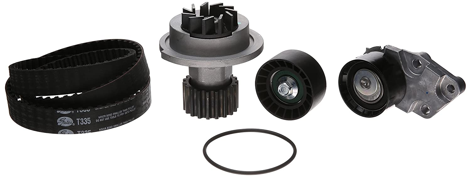 Gates TCKWP335 Engine Timing Belt Kit with Water Pump