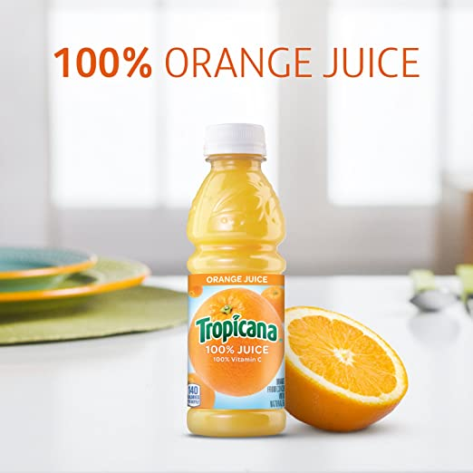 - Tropicana 100% Orange Juice