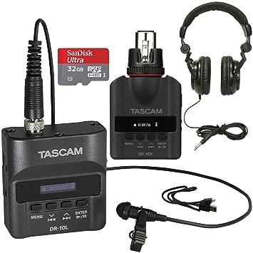 Amazon.com: Tascam dr-10l Digital portátil Studio Grabadora ...