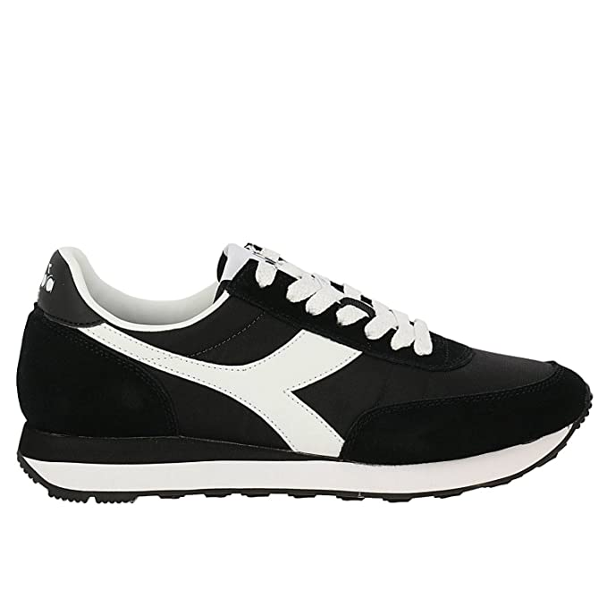 Scarpe Diadora Uomo Sneakers Koala Nero Bianco 173954