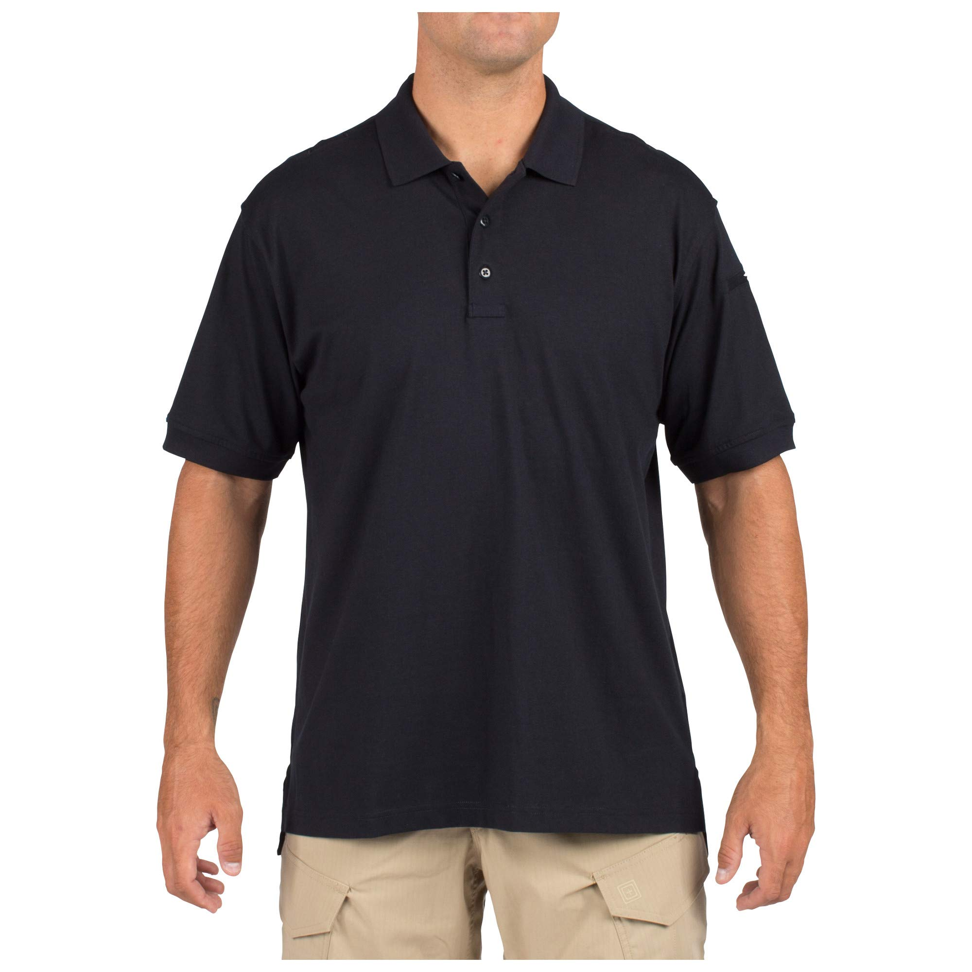 5.11 Tactical Men's Jersey Knit Short Sleeve Shirt Wrinkle-Resistant Cotton Pen Pocket Style 71182