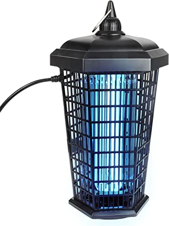 BYGBUG Waterproof Bug Zapper for Outdoor&Indoor, Powerful 30W/4200V Electric Mosquito Killer with Off Button, Electronic Mosquito Lamp with Off Button, Insect Fly Trap for Home/Backyard/Patio