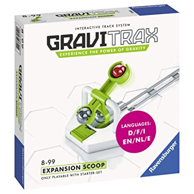 Ravensburger Gravitrax Scoop Accessory - Marble Run & STEM Toy for Boys & Girls Age 8 & Up - Accessory for 2020 Toy of The Year Finalist Gravitrax: Toys & Games