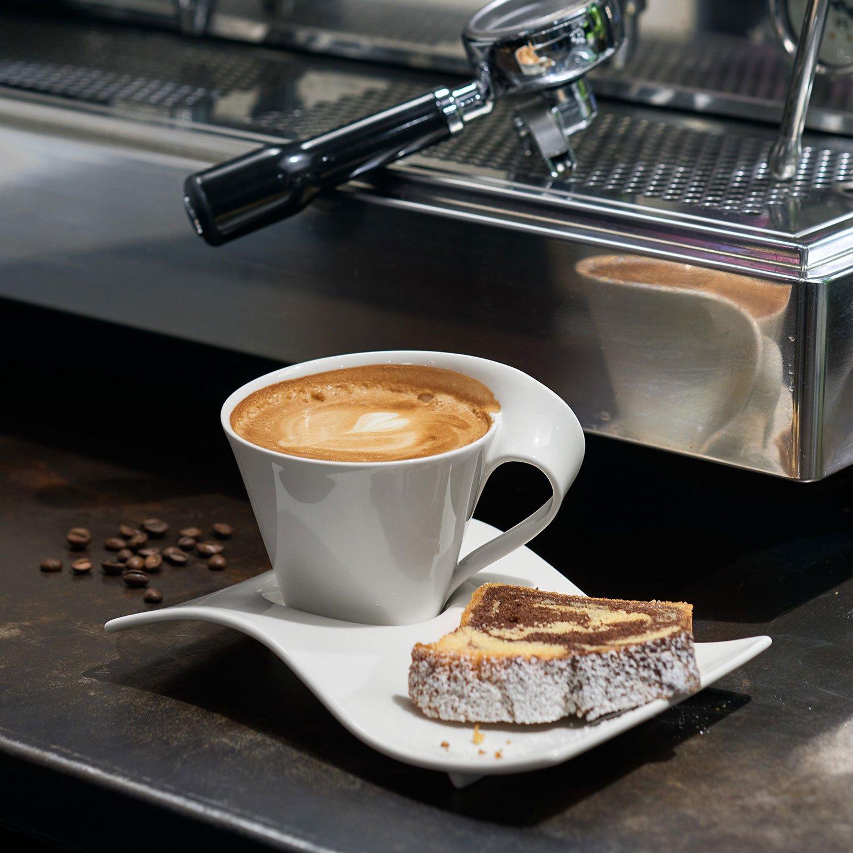 Villeroy & Boch NewWave Caffè Taza de café, 400 ml, Altura: 10.1 cm, Porcelana Premium, Blanco: Amazon.es: Hogar