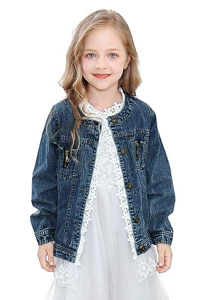 Amazon.com: Chaqueta vaquera para niños y niñas: Clothing