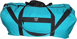 product image for BAGS USA Extra Large Eagle Duffle Bag,tough 1000 Denier Cordura Made in U.s.a. (Turquoise)