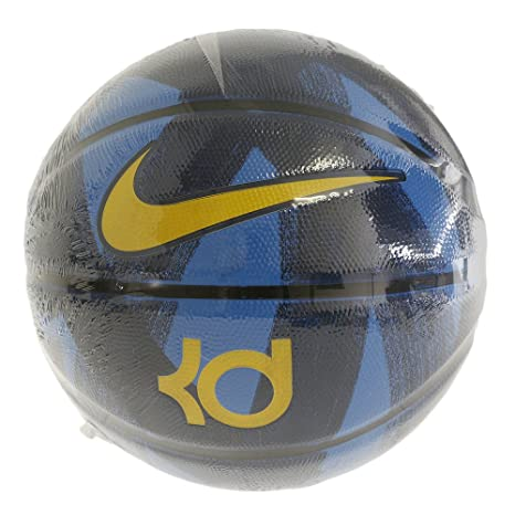 2639661a71c0 Amazon.com   Nike KD Kevin Durant Full Size Basketball Blue Yellow   Sports    Outdoors