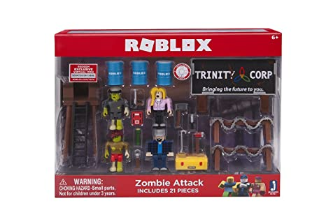 Roblox Zombie Attack Playset Amazoncouk Toys Games