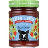 Crofters Organic Apricot Just Fruit Spread, 10 oz