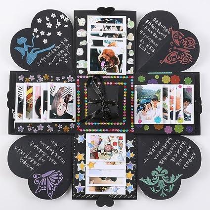 Niceeshop Explosion Box TM Scrapbook DIY Photo Album Creative