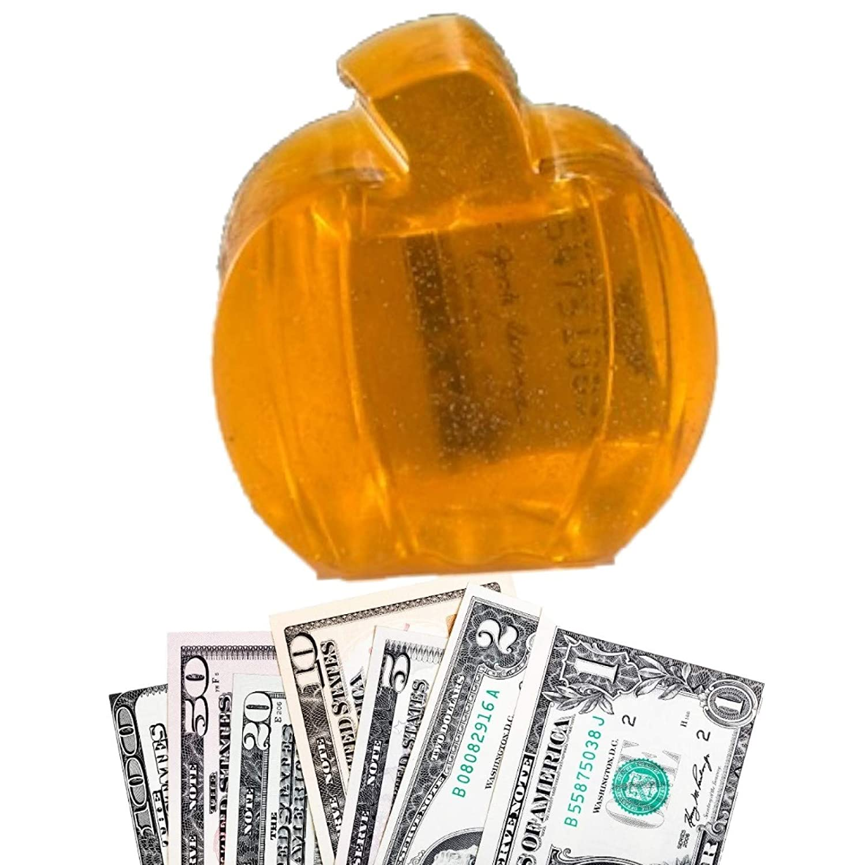 Halloween Thanksgiving Fall Orange Pumpkin Spice Money Soap