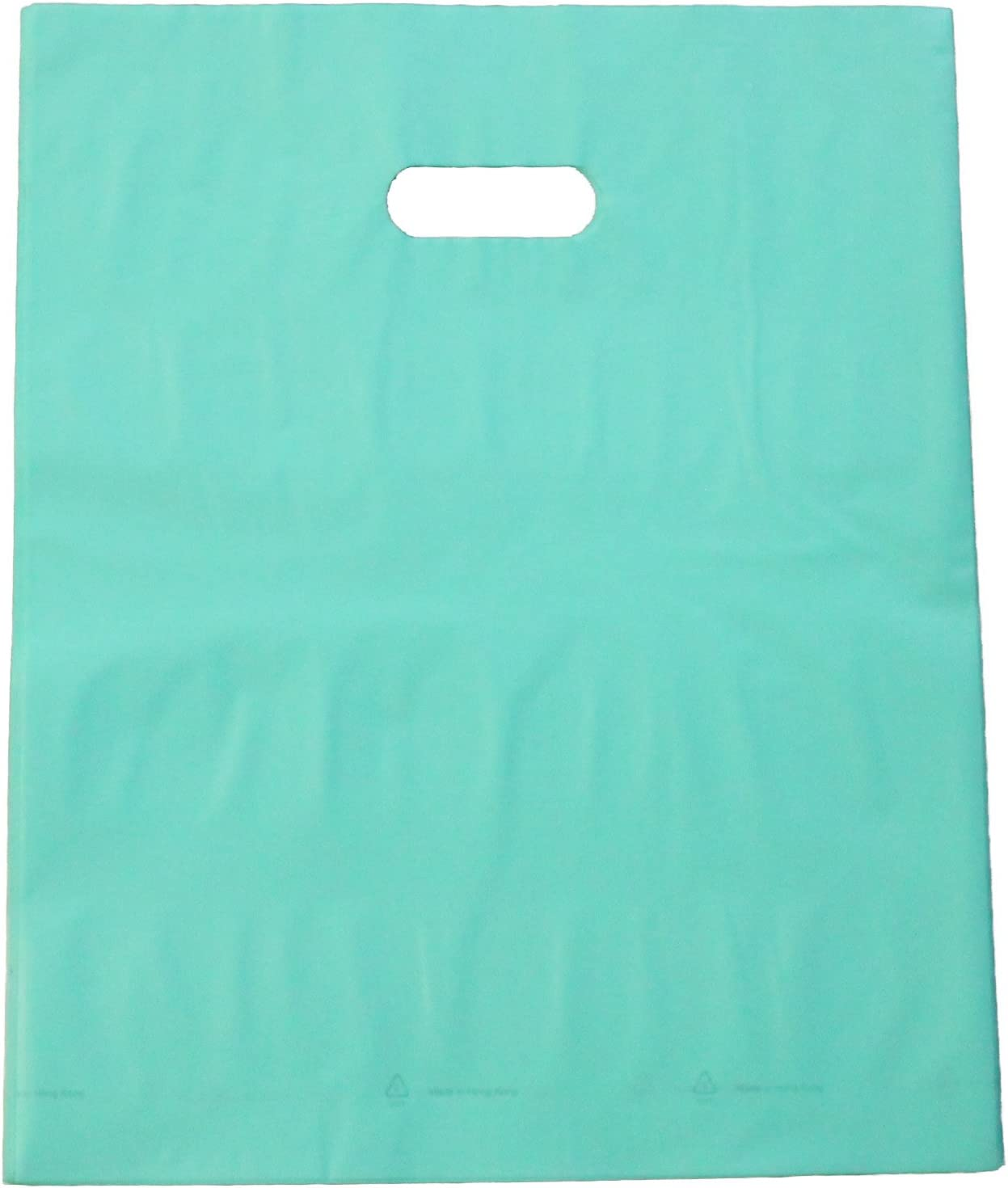 Retail Use Bags 100pcs 9x12 ~Pink Frosty Plastic Merchandise Bags wHandles