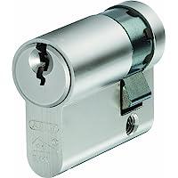 Abus E60NP nikkel Pearl 10/50 halve cilinder