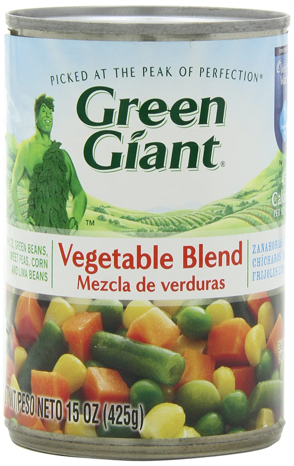 Green Giant Mixed Vegetable Blend, 15-Ounce (Pack of 6)