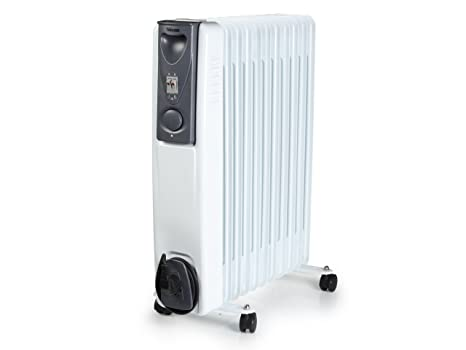 Tristar KA-5115 Calefactor eléctrico con radiador de Aceite y 11 cuerpos, 2000 W