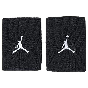Nike Jumpman Muñequera, Unisex Adulto, (Negro/Blanco), Talla Única: Amazon.es: Deportes y aire libre