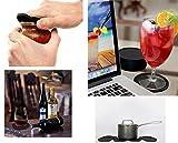 UTRO Silicone Drink Coasters Set of 8 - Non-slip