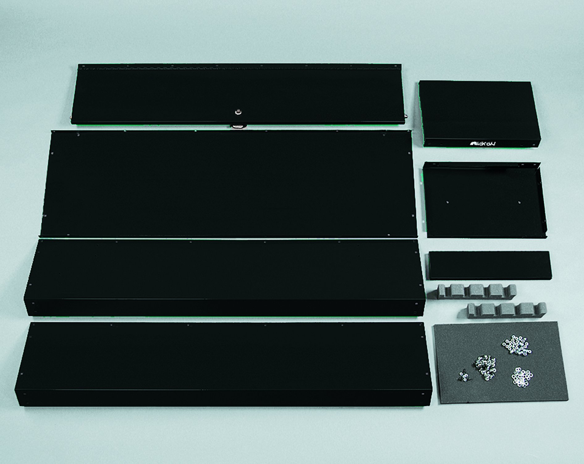 Stack-On GCB-8RTA Steel 8-Gun Ready to Assemble Security Cabinet, Black by Stack-On