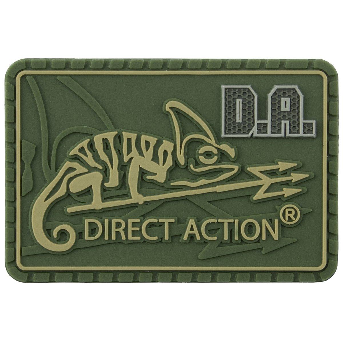 Direct Action Logo Flicken Medium Oliv Grün