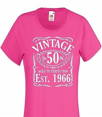 Vintage Desde 1966, cumpleaños Regalo Divertido señoras ...